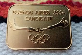 Buenos Aires 2004 pin