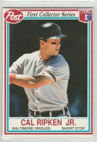 1990 Post Cereal #21 Cal Ripken Jr.