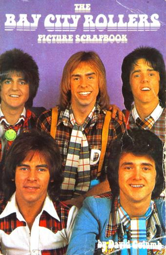 Bay City Rollers picture scrapbook