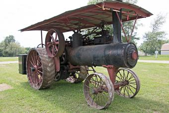Early 20th Century Tractor