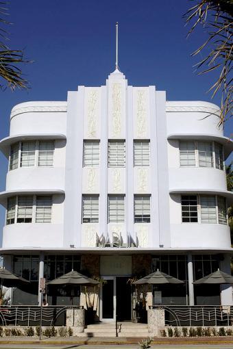The Marlin Hotel, in South Beach, Miami Beach, Florida, USA