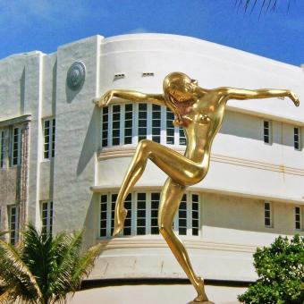 Wiki art deco style Miami