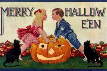 Antique Halloween Postcards to Get a Blast From the Past