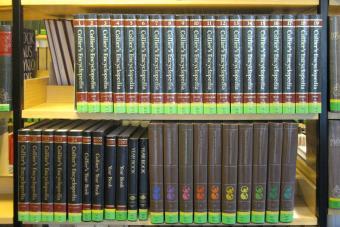 Colllier's encyclopedia in librabry