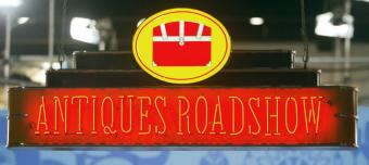 Antiques roadshow sign