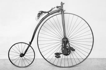 Kangaroo bicycle, c.1878.