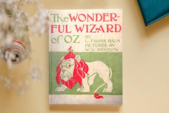The Wonderful Wizard of Oz first edition cover
