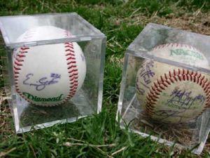 Signed Collectible Baseballs