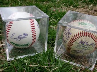 Sports Memorabilia Glass Display Cases