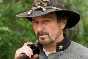 Civil War reenactor.