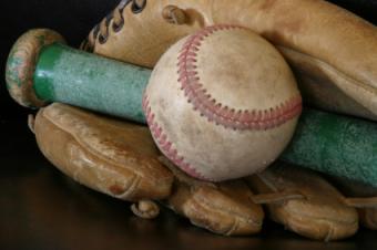 Favorite baseball equipment.
