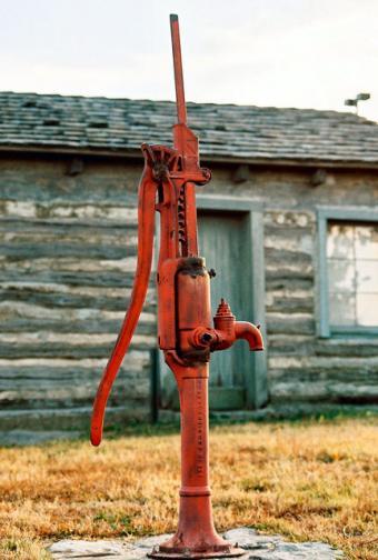 Antique Well Pumps