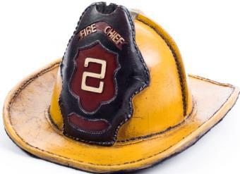 old fire hat