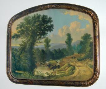Scenic framed artwork