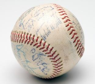 Rare Sports Autographs