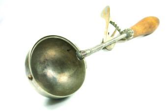 Antique ice cream scoop