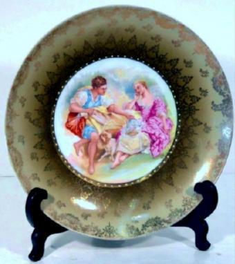 victoria porcelain plate