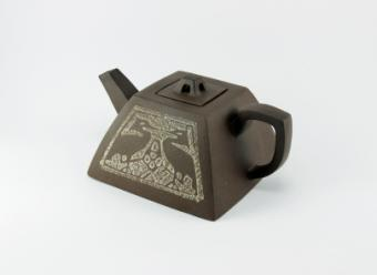 Crane Teapot