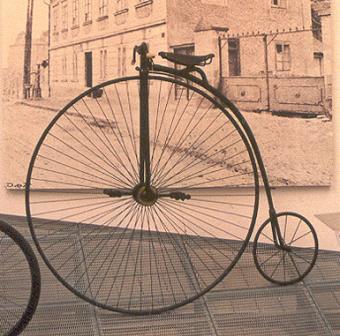 Victorian High Wheel Bike