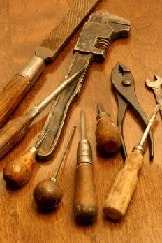 Image of antique hand tools