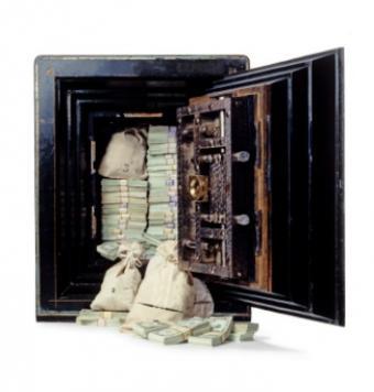 Antique Bank Safes