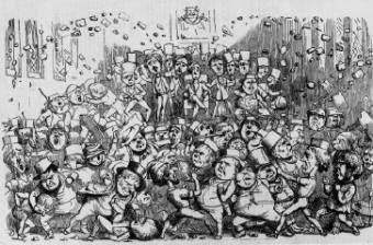 Historical Political Cartoons