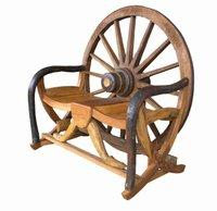 Vintage Wagon Wheel Furniture