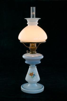 Antique Kerosene Banquet Lamps