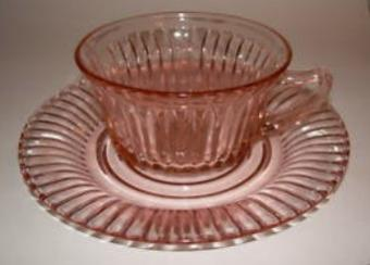 Determining the Value of Pink Depression Glass