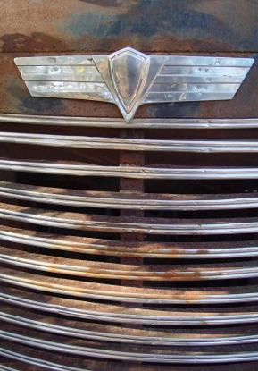 antique auto emblem