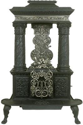 column stove