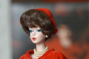 A vintage Barbie doll