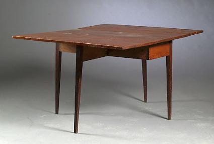 Hepplewhite Drop Leaf Dining Table