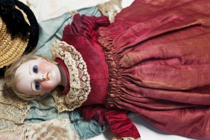 antique German doll