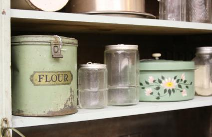 antique canisters kitchen vintage kitchen canisters lovetoknow 10123