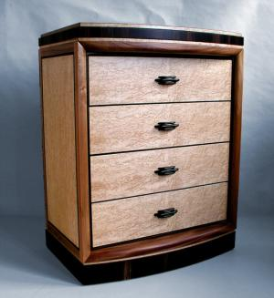 Art Deco reproduction dresser by Joel Liebman Furniture
