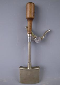 Square shaped antique ice cream scoop