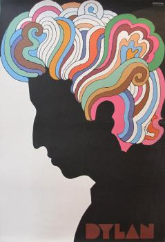Bob Dylan Promo Poster by Milton Glaser