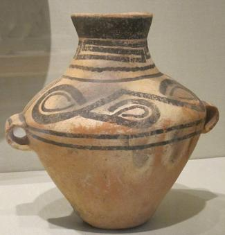 Chinese jar, Neolithic period