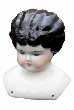 Antique Porcelain Doll Head