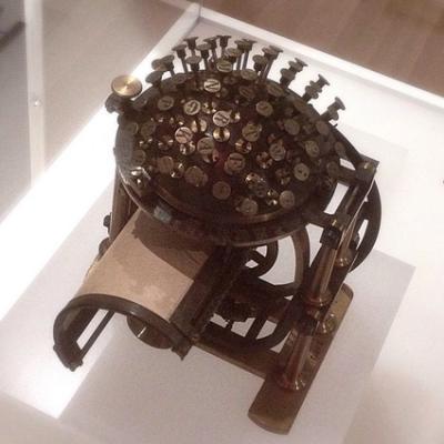 1878 Hansen Writing Ball
