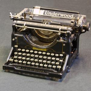 Underwood No 5 Typewriter