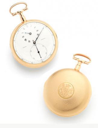 Josiah Emery pocket watch