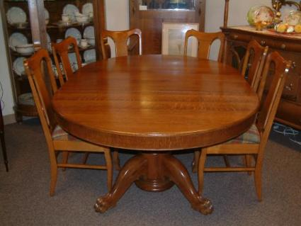 Antique Claw Foot Tables - Claw foot dining room table
