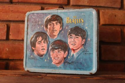 Vintage 1965 Beatles lunchbox