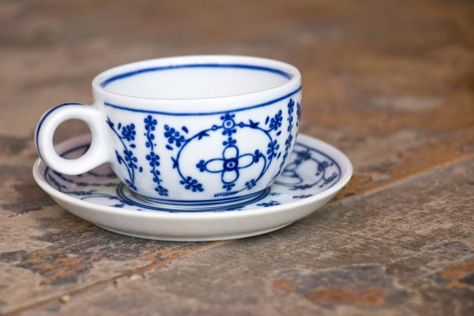 Old north German teacup