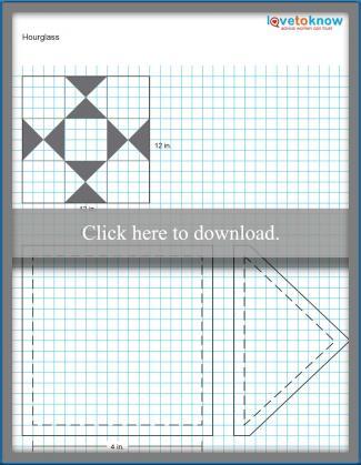 Hourglass pattern
