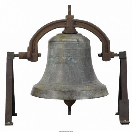American Bronze Bell. Stuckstede & Brothers, St. Louis, Missouri, USA. 1909.