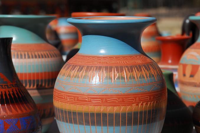 Navaho pottery
