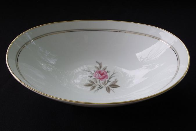 Noritake gold rimmed Darryl pattern china